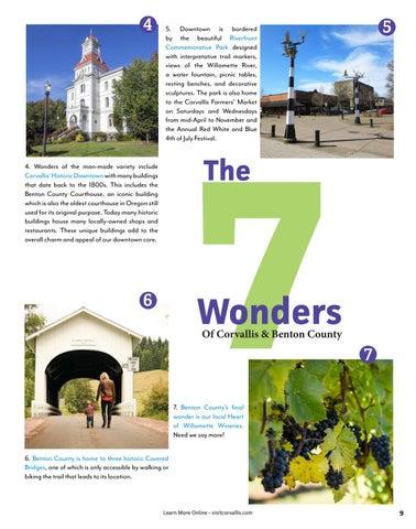 Page 9 of 7 Wonders of Corvallis