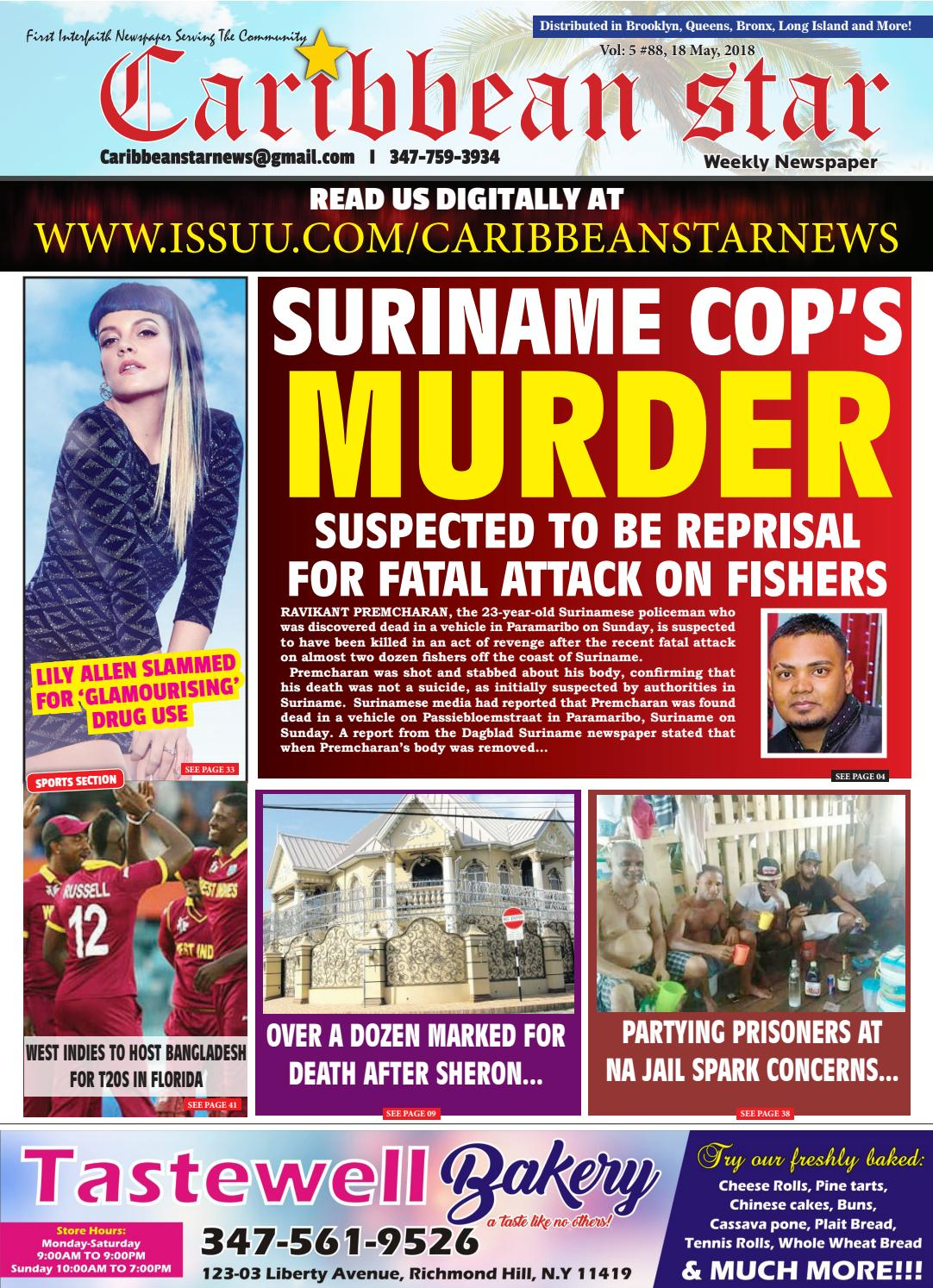 Caribbean star 18 may 2018 epaper by Caribbean Star News - issuu