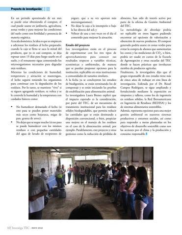 Page 10 of Logros del TEC en investigación y extensión