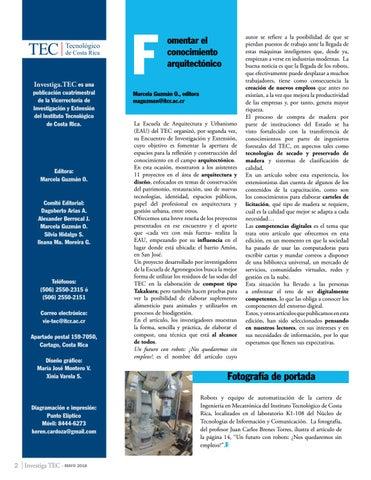 Page 2 of Fomentar el conocimiento arquitectónico