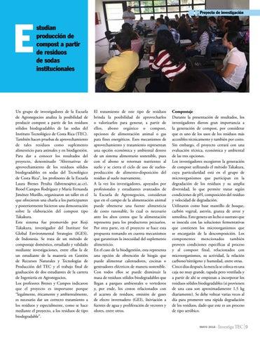 Page 9 of Estudian producción de compost a partir de residuos de sodas institucionales