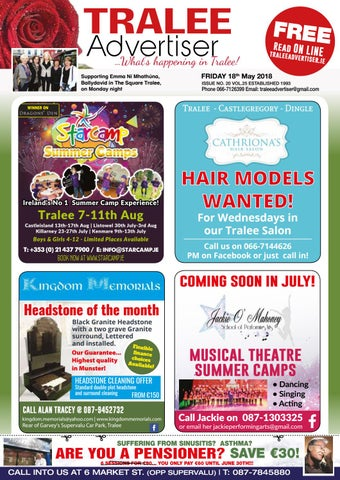 Issue 20 May By Traleeadvertiser Issuu