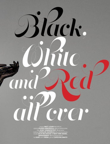 Page 3 of Black, White and Red all over