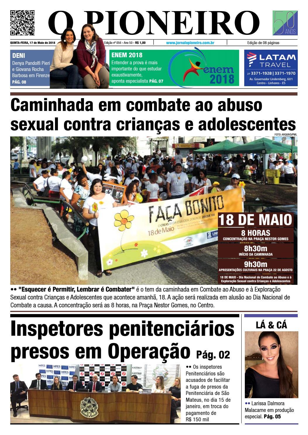 O PIONEIRO 17 DE MAIO DE 2018 by Jornal O PIONEIRO - issuu 1b572d62da