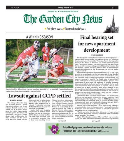 to buy cheapest buy popular The Garden City News (5/18/18) by Litmor Publishing - issuu