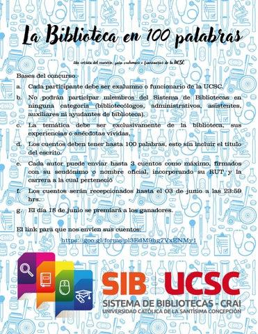 Page 4 of La Biblioteca en 100 Palabras