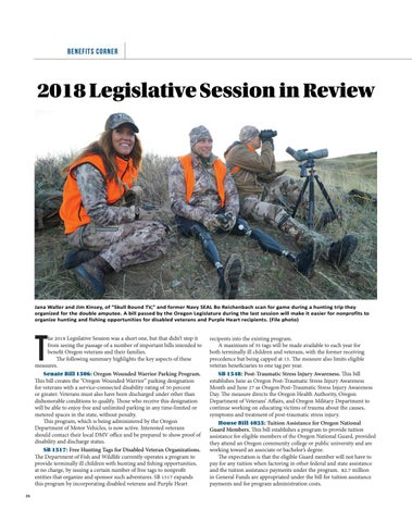 Page 26 of 2018 Legislative Session in Review