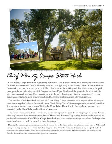 Page 5 of Chief Plenty Coups State Park