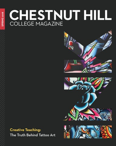 Chestnut Hill College Magazine, Spring 2018 by CHC Accounts