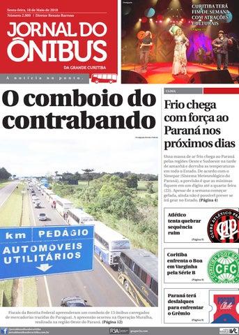 Jornal do Ônibus de Curitiba - 18 05 18 by Editora Correio ... 103d1a9d9c74a