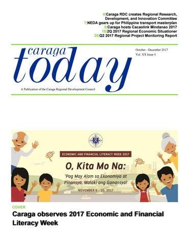 Caraga Today October-December 2017 by nedacaraga - issuu
