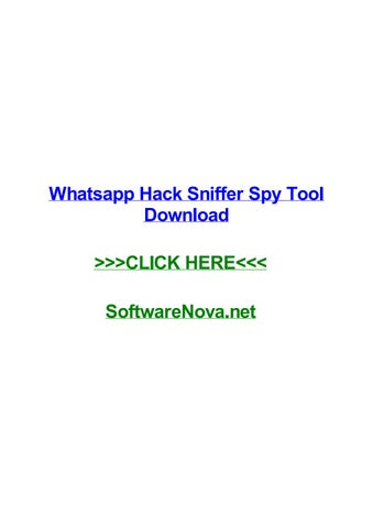 Whatsapp hack sniffer spy tool download by kylebubc - issuu
