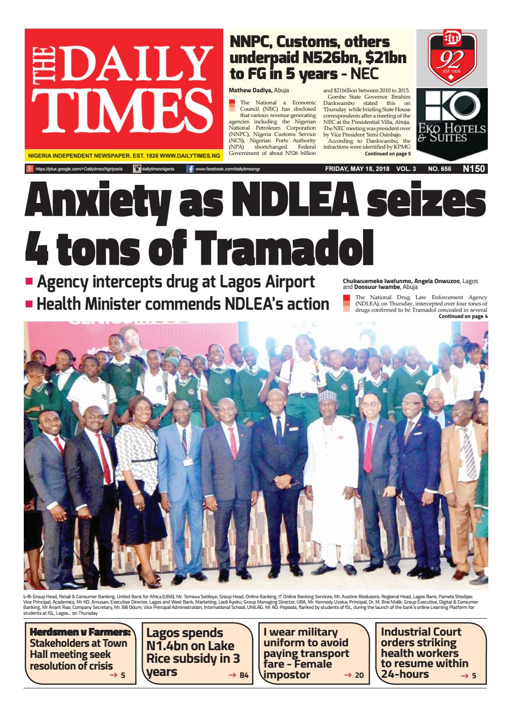 Dtn 18 5 18 by Dailytimes - issuu