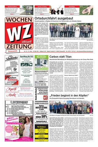 Wochenzeitung Donauwörth Kw 2018 By Wochenzeitung Sonntagszeitung
