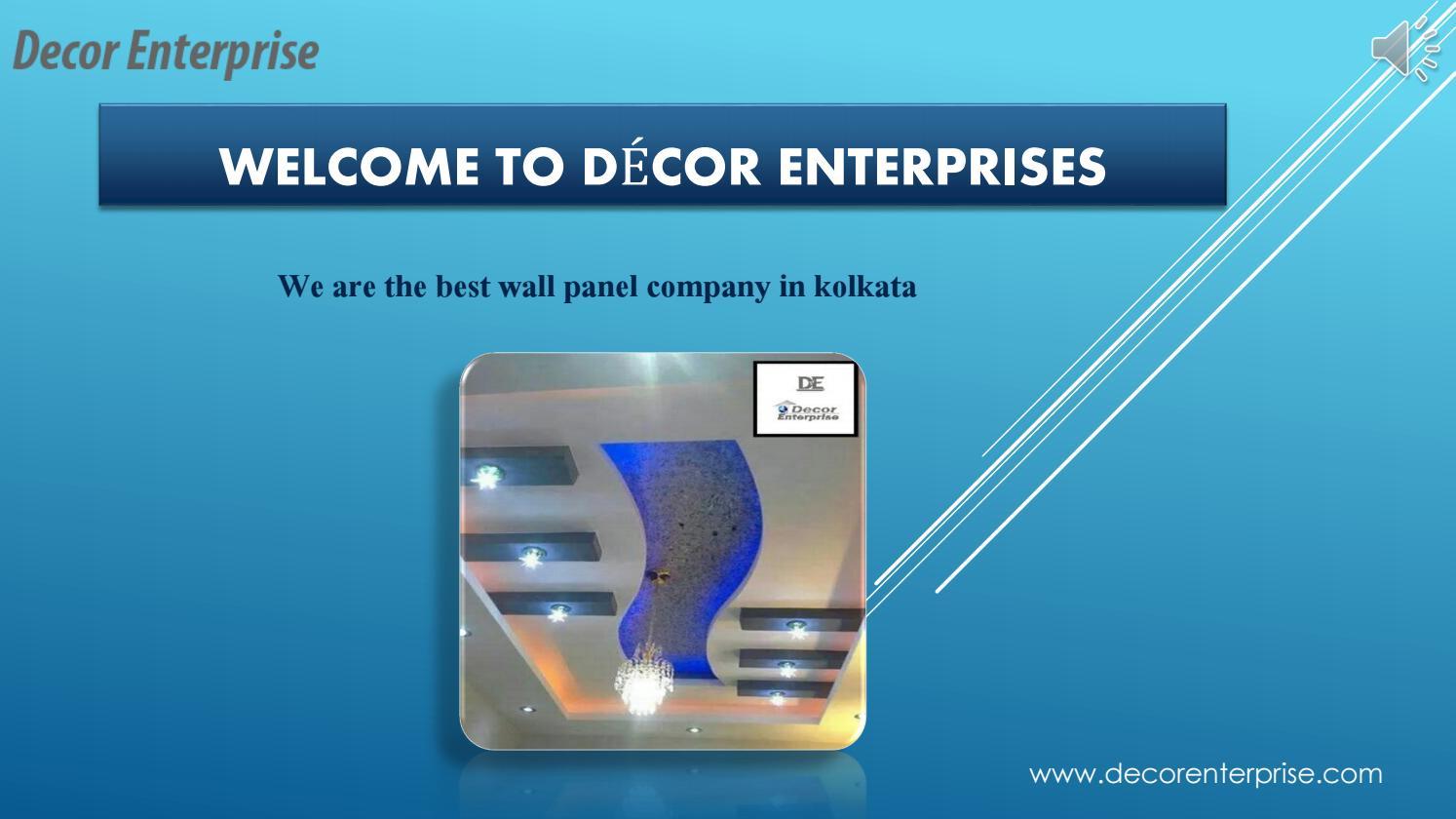 Top Wall Panel Company In Kolkata Decor Enterprises By Decor