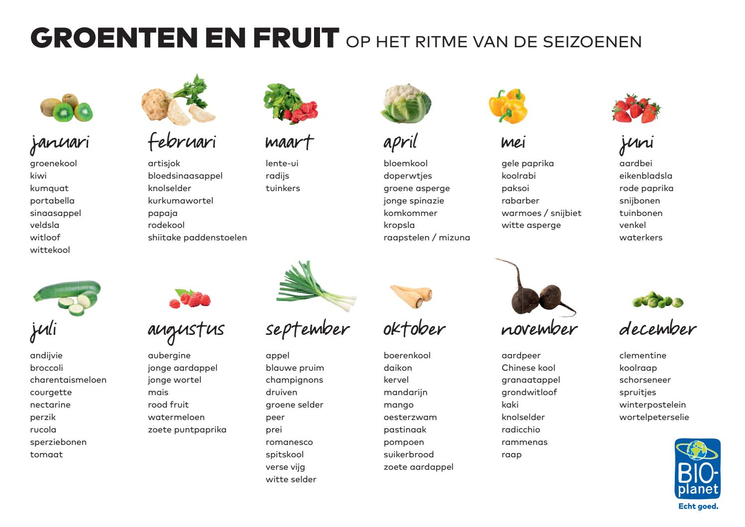 Betere Belgische seizoensgroenten by Colruyt Group Services - issuu PJ-03