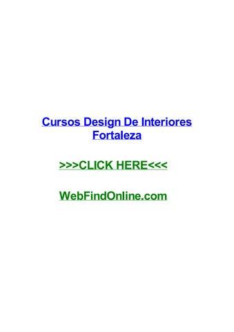 Cursos Design De Interiores Fortaleza By Alexisljrfh Issuu
