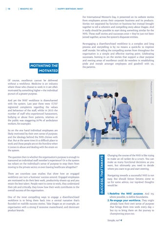Page 18 of Disrupting healthcare - an interview with Echo