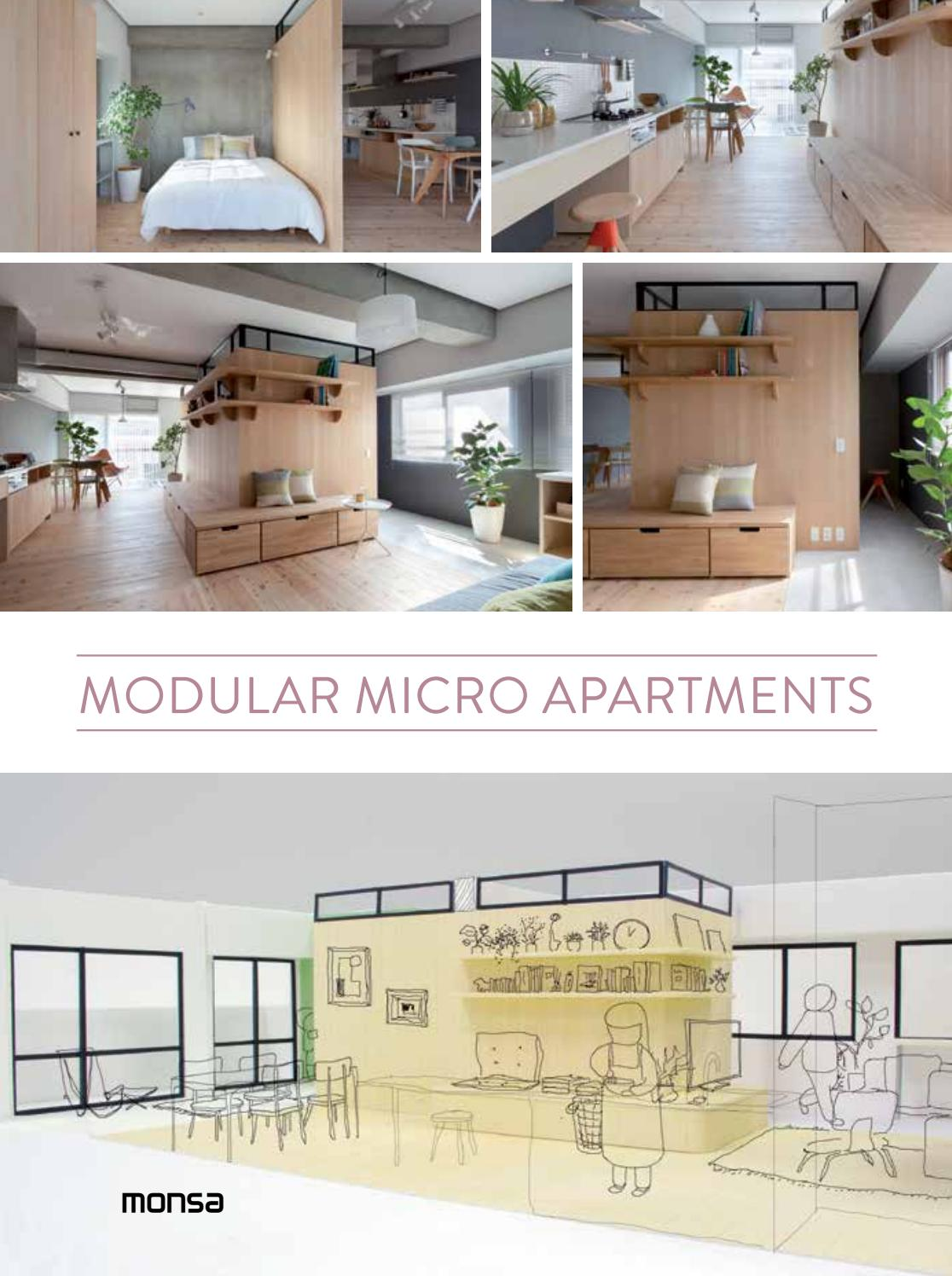 Modular Micro Apartments By Monsa Publications Issuu