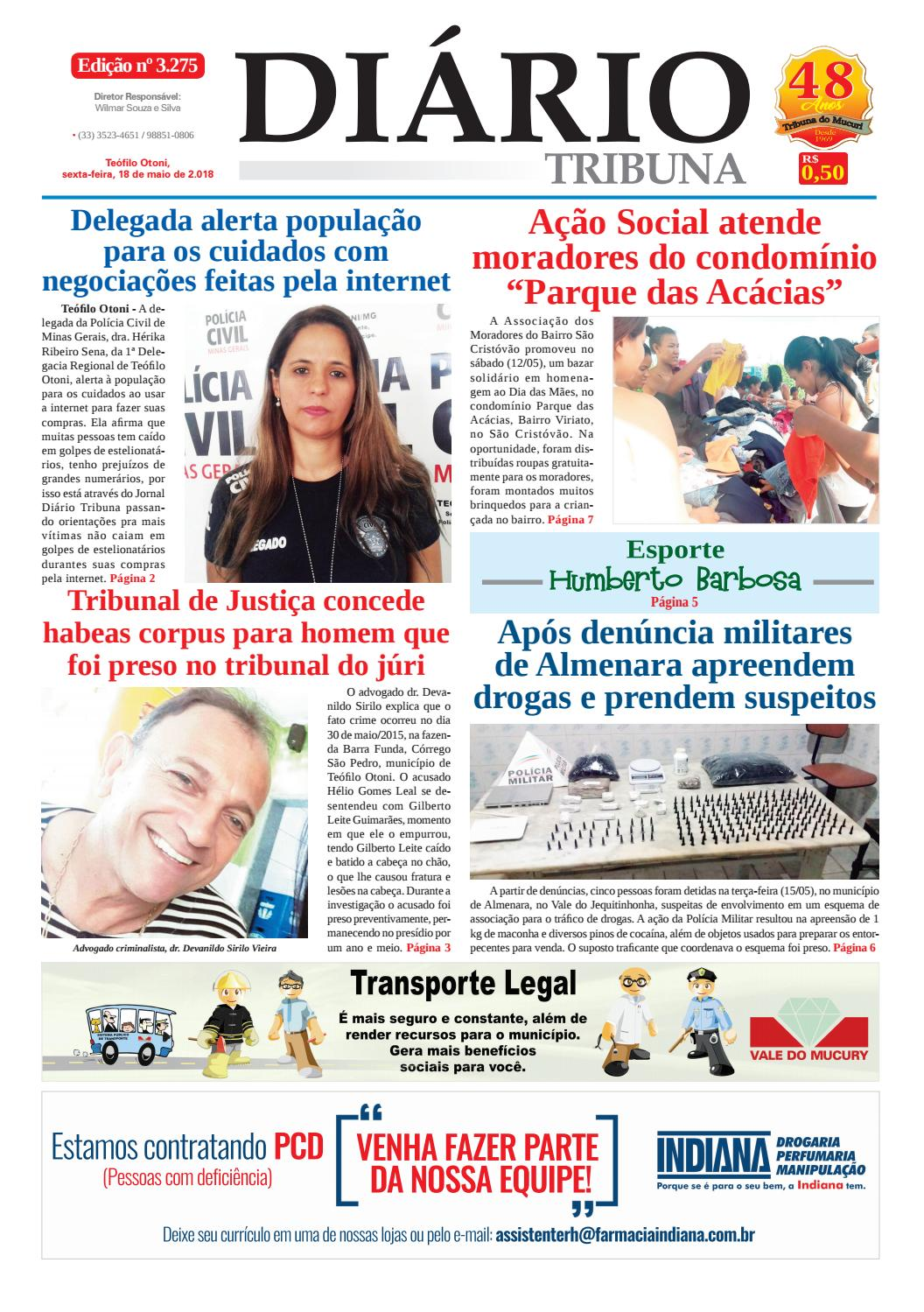 cf1ef753047 Diario do mucuri 18 mai 2018 final by Phillipy Lopes - issuu