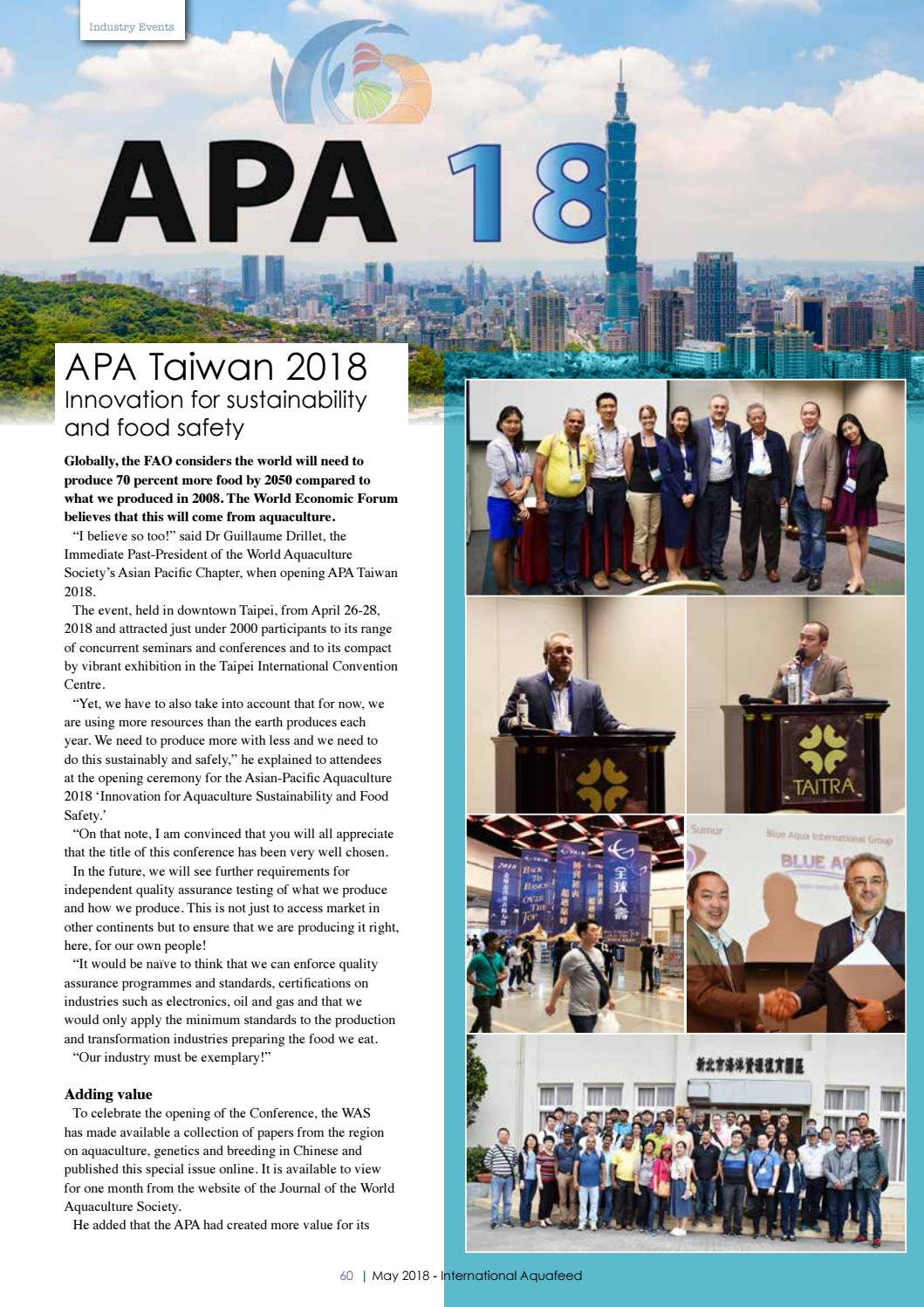 MAY 2018 - International Aquafeed magazine by Perendale