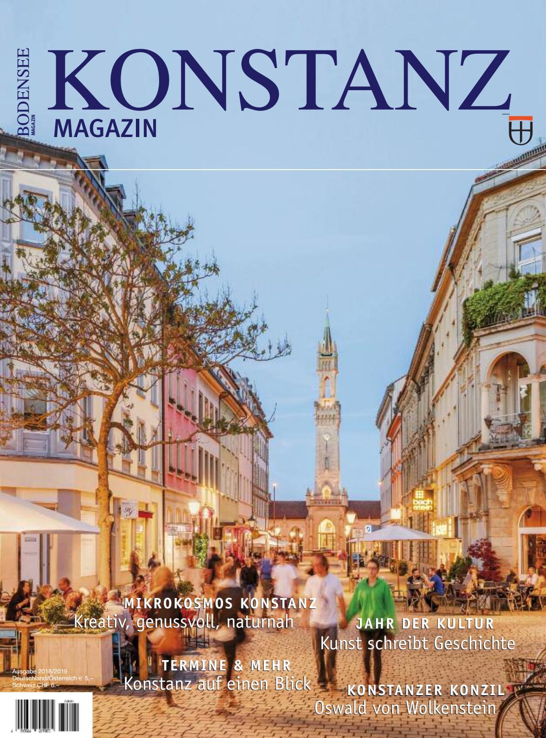 Konstanz Magazin 2018 By Labhard Medien Issuu