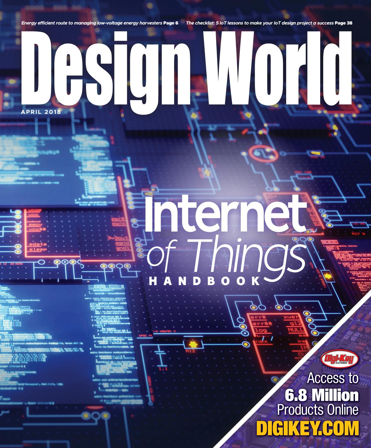 Internet Of Things Handbook April 2018 By Wtwh Media Llc Issuu Output Signal Twowire Hall Switches