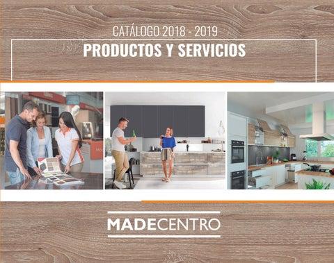 Cat logo consolidado madecentro 2018 by madecentro for Proveedores de muebles para oficina