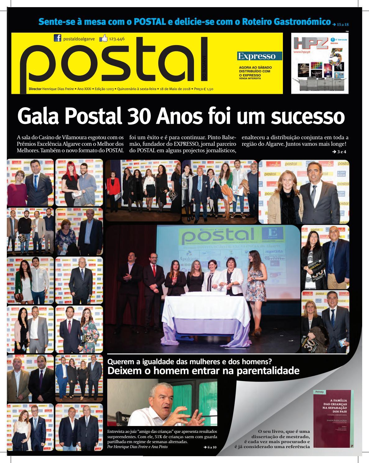 c0a8c8a601 Postal 1203 18MAI2018 by POSTAL do ALGARVE - issuu