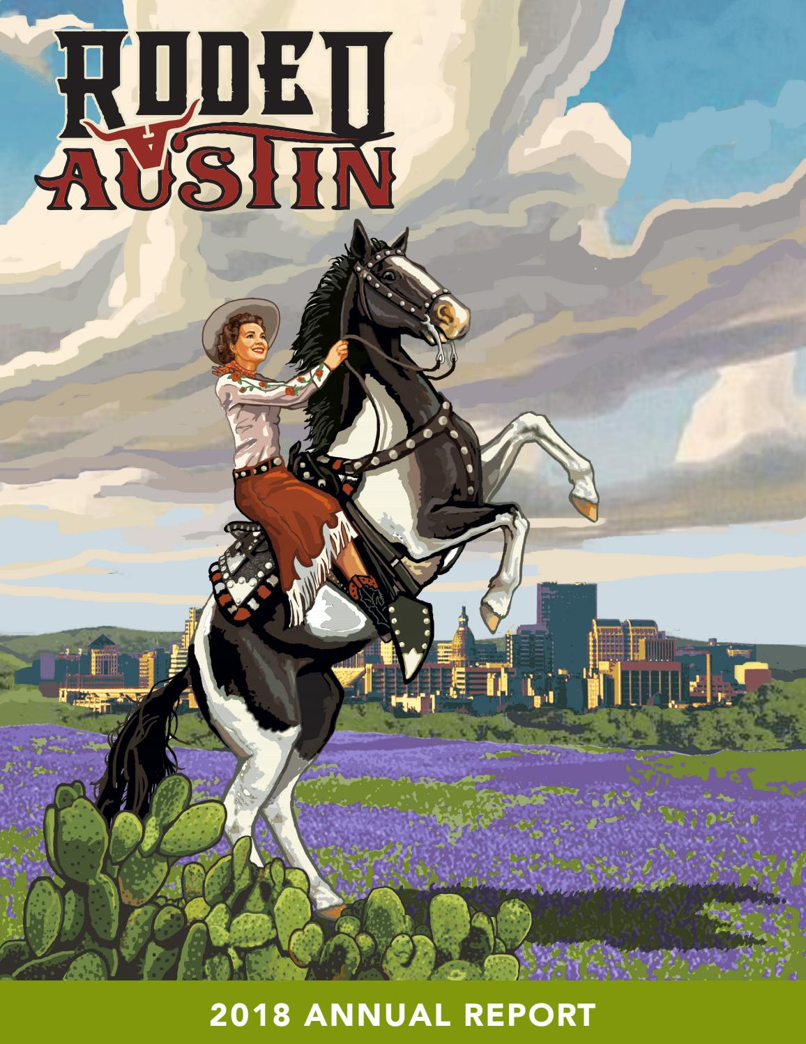 Rodeo Austin 2018 Annual Report By Rodeo Austin Issuu