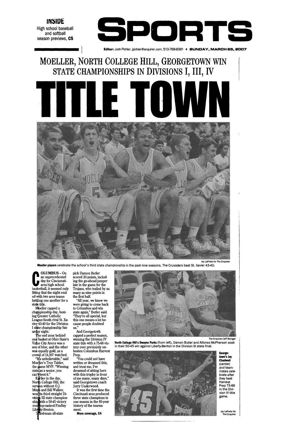 1efe3f298acb11 Moeller High School 2006-07 Basketball Articles by Archbishop Moeller High  School - issuu