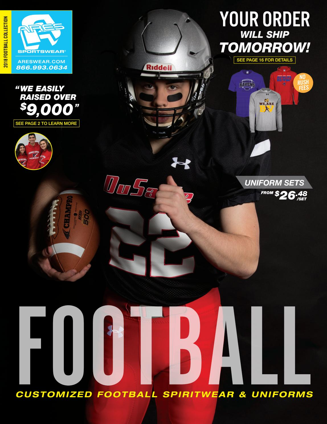 2018 Ares Sportswear Football Catalog by Ares Sportswear - issuu 4d94061e4