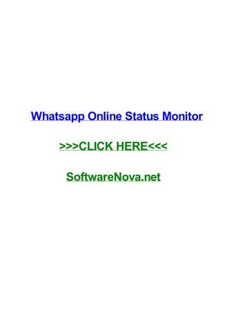 Whatsapp Online Status Monitor By Katiebojfr Issuu