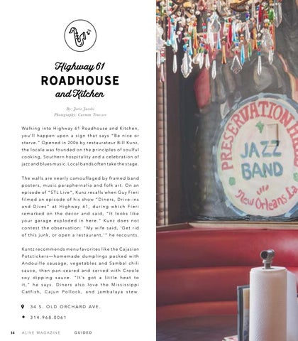 Page 18 of Highway 61 Roadhouse and Kitchen