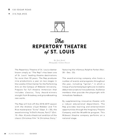 Page 22 of The Repertory Theatre of St.Louis