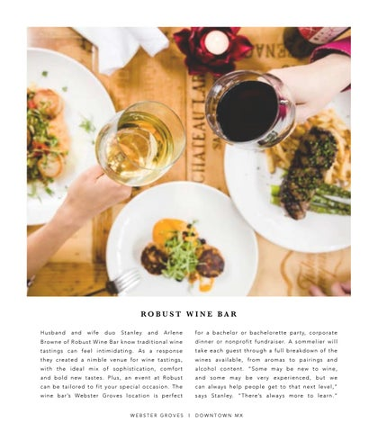 Page 8 of Robust Wine Bar