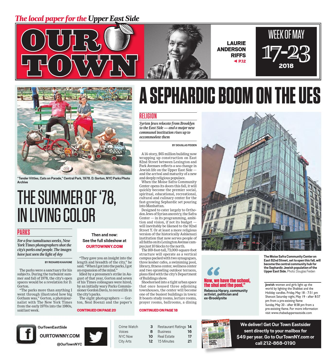 Our Town - May 17, 2018 by Our Town - issuu
