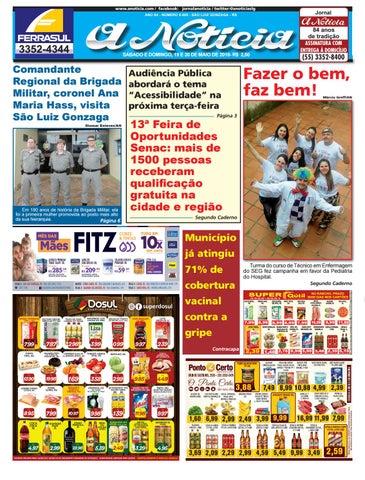Edição de 19 e 20 de maio de 2018 by Jornal A Notícia - issuu 114c01921d