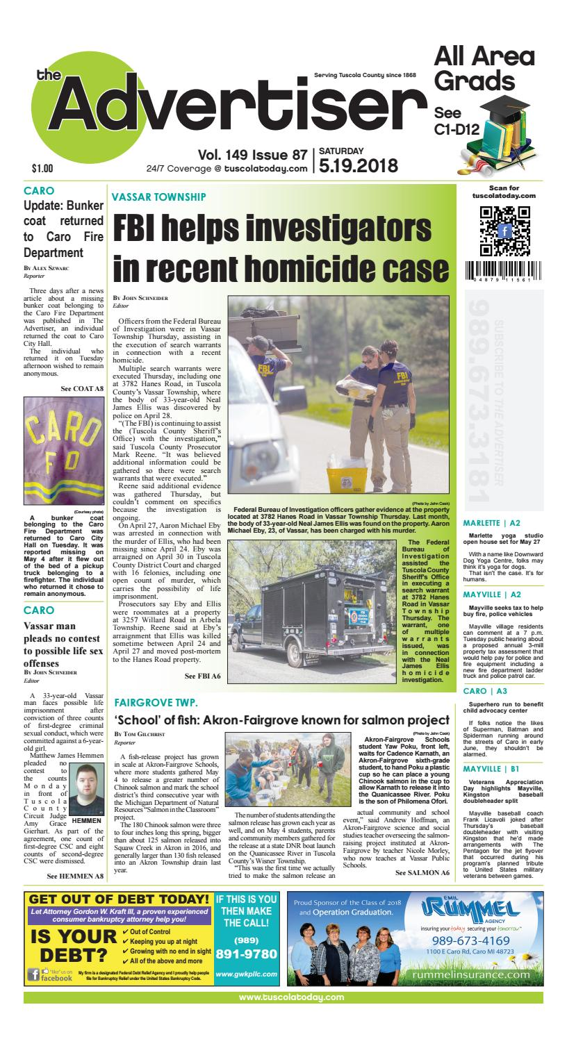 Tca 5 19 18 all pages by Tuscola County Advertiser - issuu