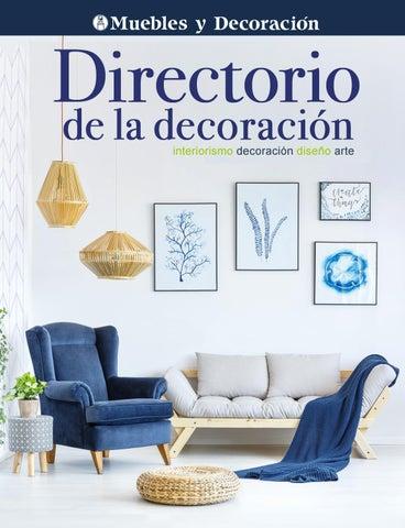 DIRECTORIO DE LA DECORACIÓN by Revista Muebles y Decoración - issuu