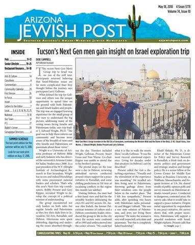 Arizona Jewish Post 5.18.2108 1 32 by Arizona Jewish Post - issuu 5de2c5fe1393a