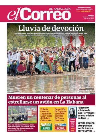 0820b9ee2d 19.05.2018 El Correo de Andalucía by EL CORREO DE ANDALUCÍA S.L. - issuu