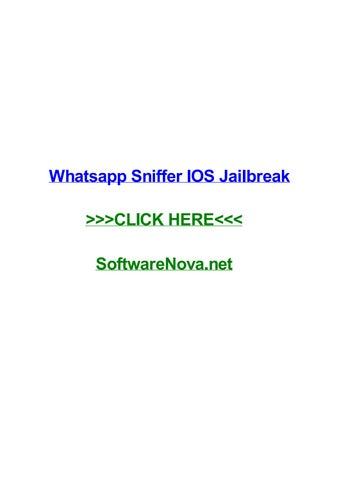 spiare whatsapp con hack sniffer