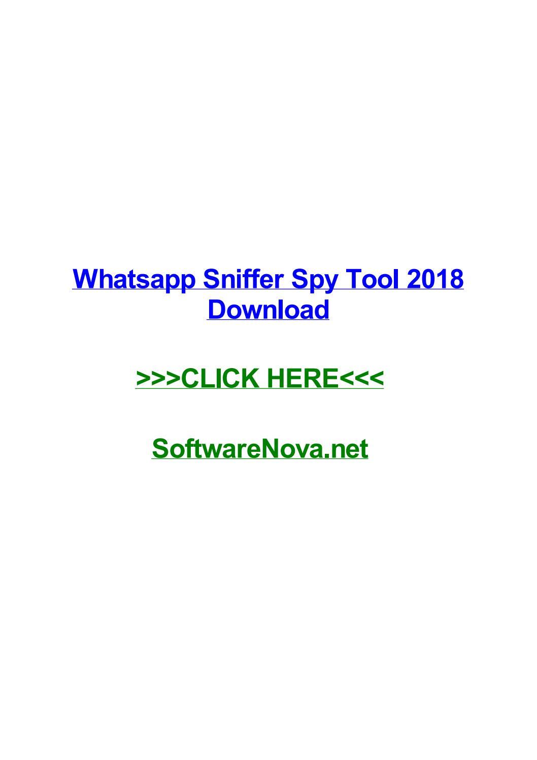 descargar whatsapp sniffer-soft