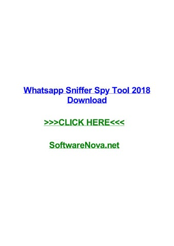 Whatsapp sniffer - spy application.zip