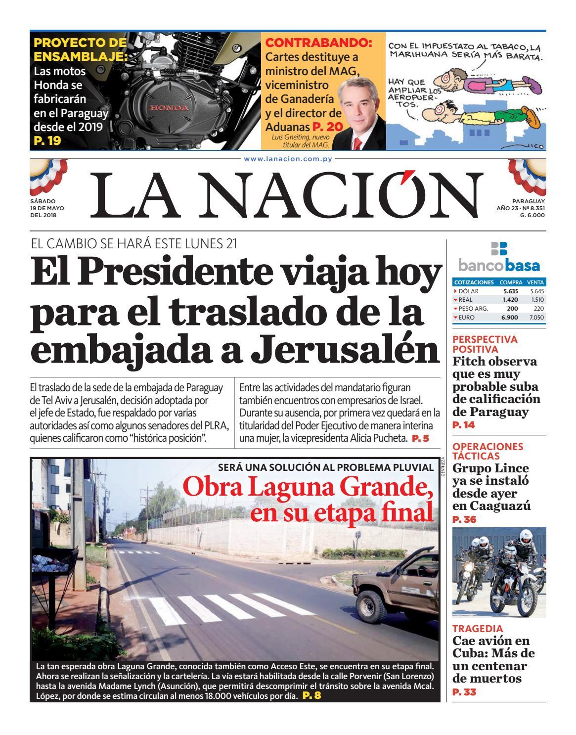 DIARIO LA NACIÓN - EDICIÓN 8.351 by La Nación - issuu