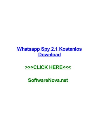 whatsapp spy software kostenlos