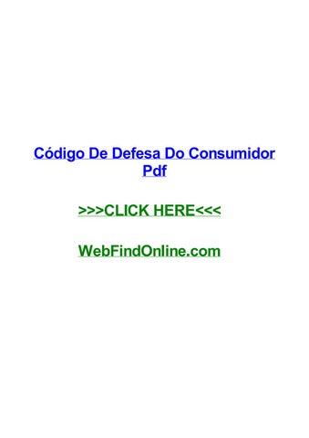 Codigo De Defesa Do Consumidor Pdf