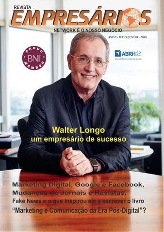 405840f324b Conheça a Revista Nasceu em 2015 com o objetivo de realizar a troca de  informações para o público empresarial voltada a incentivar o  empreendedorismo ...