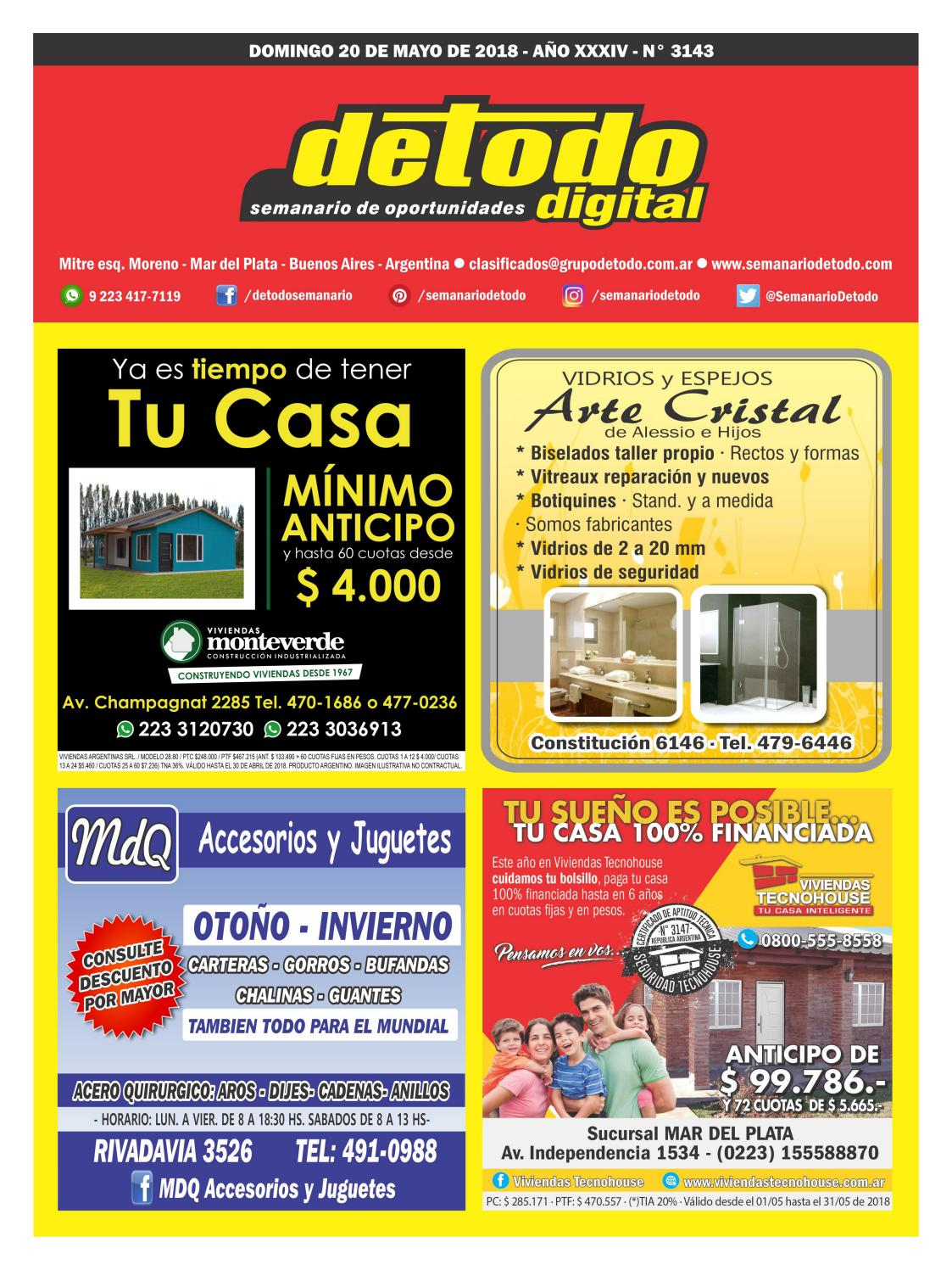 Semanario Detodo Digital - Edición N° 3143 - 20 05 2018 by Semanario Detodo  - issuu 80dbcae5fe907